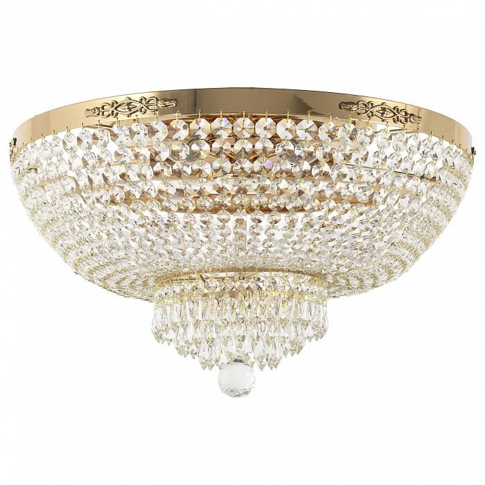 Потолочная люстра Dio D'Arte5 или 6 ламп<br>Артикул - DDA_Lodi_E_1.2.50.100_G,Бренд - Dio D'Arte (Италия),Коллекция - Lodi,Гарантия, месяцы - 24,Высота, мм - 300,Диаметр, мм - 500,Тип лампы - компактная люминесцентная [КЛЛ] ИЛИнакаливания ИЛИсветодиодная  [LED],Общее кол-во ламп - 6,Напряжение питания лампы, В - 220,Максимальная мощность лампы, Вт - 60,Лампы в комплекте - отсутствуют,Цвет плафонов и подвесок - неокрашенный,Тип поверхности плафонов - прозрачный,Материал плафонов и подвесок - хрусталь Elite,Цвет арматуры - золото,Тип поверхности арматуры - глянцевый,Материал арматуры - металл,Возможность подлючения диммера - можно, если установить лампу накаливания,Форма и тип колбы - свеча ИЛИ свеча на ветру,Тип цоколя лампы - E27,Класс электробезопасности - I,Общая мощность, Вт - 360,Степень пылевлагозащиты, IP - 20,Диапазон рабочих температур - комнатная температура,Дополнительные параметры - способ крепления светильника к потолку - на монтажной пластине<br>