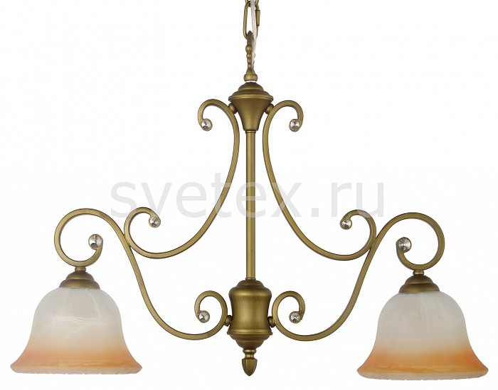 Подвесной светильник Arti LampadariПодвесные светильники<br>Артикул - AL_Carina_E_1.1.2_GB,Бренд - Arti Lampadari (Италия),Коллекция - Carina,Гарантия, месяцы - 24,Время изготовления, дней - 1,Высота, мм - 500,Диаметр, мм - 600,Тип лампы - компактная люминесцентная [КЛЛ] ИЛИнакаливания ИЛИсветодиодная [LED],Общее кол-во ламп - 2,Напряжение питания лампы, В - 220,Максимальная мощность лампы, Вт - 60,Лампы в комплекте - отсутствуют,Цвет плафонов и подвесок - неокрашенные,Тип поверхности плафонов - прозрачный,Материал плафонов и подвесок - хрусталь,Цвет арматуры - золото с чернением, неокрашенный,Тип поверхности арматуры - матовый, прозрачный,Материал арматуры - металл, стекло,Возможность подлючения диммера - можно, если установить лампу накаливания,Тип цоколя лампы - E27,Класс электробезопасности - I,Общая мощность, Вт - 120,Степень пылевлагозащиты, IP - 20,Диапазон рабочих температур - комнатная температура,Дополнительные параметры - указана высота светильника без подвеса,  способ крепления светильника к потолку – на крюке<br>