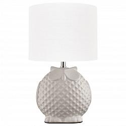 Настольная лампа Arte LampС абажуром<br>Артикул - AR_A1582LT-1WH,Бренд - Arte Lamp (Италия),Коллекция - Gamba,Высота, мм - 310,Диаметр, мм - 180,Тип лампы - компактная люминесцентная [КЛЛ] ИЛИнакаливания ИЛИсветодиодная [LED],Общее кол-во ламп - 1,Напряжение питания лампы, В - 220,Максимальная мощность лампы, Вт - 40,Лампы в комплекте - отсутствуют,Цвет плафонов и подвесок - белый,Тип поверхности плафонов - матовый,Материал плафонов и подвесок - текстиль,Цвет арматуры - белый, хром,Тип поверхности арматуры - глянцевый, матовый, рельефный,Материал арматуры - керамика, металл,Количество плафонов - 1,Тип цоколя лампы - E14,Класс электробезопасности - II,Степень пылевлагозащиты, IP - 20,Диапазон рабочих температур - комнатная температура,Дополнительные параметры - провод электропитания с вилкой без заземления<br>