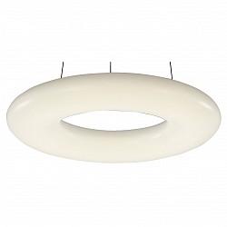 Подвесной светильник ST-LuceСветодиодные<br>Артикул - SL902.053.01,Бренд - ST-Luce (Китай),Коллекция - SL902,Гарантия, месяцы - 24,Высота, мм - 1000,Диаметр, мм - 460,Размер упаковки, мм - 520х520х140,Тип лампы - светодиодная [LED],Общее кол-во ламп - 1,Напряжение питания лампы, В - 220,Максимальная мощность лампы, Вт - 24,Лампы в комплекте - светодиодная [LED],Цвет плафонов и подвесок - белый,Тип поверхности плафонов - глянцевый,Материал плафонов и подвесок - акрил,Цвет арматуры - белый,Тип поверхности арматуры - матовый,Материал арматуры - металл,Возможность подлючения диммера - нельзя,Класс электробезопасности - I,Степень пылевлагозащиты, IP - 20,Диапазон рабочих температур - комнатная температура,Дополнительные параметры - регулируется по высоте,  способ крепления светильника к потолку – на монтажной пластине<br>
