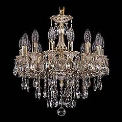 Подвесная люстра Bohemia Ivele CrystalБолее 6 ламп<br>Артикул - BI_1707_14_125_B_GW,Бренд - Bohemia Ivele Crystal (Чехия),Коллекция - 1707,Гарантия, месяцы - 24,Высота, мм - 500,Диаметр, мм - 480,Размер упаковки, мм - 450x450x200,Тип лампы - компактная люминесцентная [КЛЛ] ИЛИнакаливания ИЛИсветодиодная [LED],Общее кол-во ламп - 14,Напряжение питания лампы, В - 220,Максимальная мощность лампы, Вт - 40,Лампы в комплекте - отсутствуют,Цвет плафонов и подвесок - неокрашенный,Тип поверхности плафонов - прозрачный,Материал плафонов и подвесок - хрусталь,Цвет арматуры - золото беленое,Тип поверхности арматуры - глянцевый, рельефный,Материал арматуры - латунь,Возможность подлючения диммера - можно, если установить лампу накаливания,Форма и тип колбы - свеча ИЛИ свеча на ветру,Тип цоколя лампы - E14,Класс электробезопасности - I,Общая мощность, Вт - 560,Степень пылевлагозащиты, IP - 20,Диапазон рабочих температур - комнатная температура,Дополнительные параметры - способ крепления светильника к потолку - на крюке, указана высота светильника без подвеса<br>