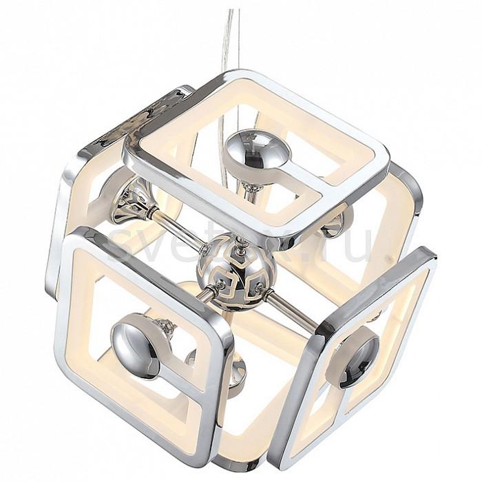 Подвесная люстра ST-LuceПолимерные плафоны<br>Артикул - SL901.103.06,Бренд - ST-Luce (Италия),Коллекция - Futur,Гарантия, месяцы - 24,Высота, мм - 1200,Диаметр, мм - 360,Размер упаковки, мм - 510x410x410,Тип лампы - светодиодная [LED],Общее кол-во ламп - 6,Максимальная мощность лампы, Вт - 8,Цвет лампы - белый,Лампы в комплекте - светодиодные [LED],Цвет плафонов и подвесок - белый, хром,Тип поверхности плафонов - матовый,Материал плафонов и подвесок - акрил,Цвет арматуры - хром,Тип поверхности арматуры - глянцевый,Материал арматуры - металл,Количество плафонов - 6,Возможность подлючения диммера - нельзя,Цветовая температура, K - 3500 K,Экономичнее лампы накаливания - в 10 раз,Класс электробезопасности - I,Напряжение питания, В - 220,Общая мощность, Вт - 48,Степень пылевлагозащиты, IP - 20,Диапазон рабочих температур - комнатная температура,Дополнительные параметры - способ крепления светильника к потолоку - на монтажной пластине<br>
