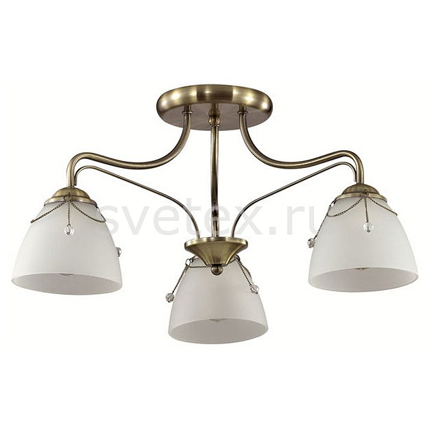Люстра на штанге LumionЛюстры<br>Артикул - LMN_3146_3C,Бренд - Lumion (Италия),Коллекция - Debora,Гарантия, месяцы - 24,Высота, мм - 310,Диаметр, мм - 540,Размер упаковки, мм - 515x620x315,Тип лампы - компактная люминесцентная [КЛЛ] ИЛИнакаливания ИЛИсветодиодная [LED],Общее кол-во ламп - 3,Напряжение питания лампы, В - 220,Максимальная мощность лампы, Вт - 60,Лампы в комплекте - отсутствуют,Цвет плафонов и подвесок - белый, неокрашенный,Тип поверхности плафонов - матовый, прозрачный,Материал плафонов и подвесок - жемчуг искусственный, стекло,Цвет арматуры - бронза,Тип поверхности арматуры - матовый, металлик,Материал арматуры - металл,Количество плафонов - 3,Возможность подлючения диммера - можно, если установить лампу накаливания,Тип цоколя лампы - E27,Класс электробезопасности - I,Общая мощность, Вт - 180,Степень пылевлагозащиты, IP - 20,Диапазон рабочих температур - комнатная температура,Дополнительные параметры - способ крепления к потолку - на монтажной пластине<br>