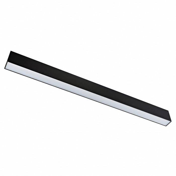 Накладной светильник DonoluxШинные<br>Артикул - do_dl18785_black_20w,Бренд - Donolux (Китай),Коллекция - DL1878,Гарантия, месяцы - 24,Длина, мм - 640,Ширина, мм - 34,Выступ, мм - 56,Тип лампы - светодиодная [LED],Общее кол-во ламп - 1,Напряжение питания лампы, В - 24,Максимальная мощность лампы, Вт - 20,Цвет лампы - белый теплый,Лампы в комплекте - светодиодная [LED],Цвет плафонов и подвесок - белый,Тип поверхности плафонов - матовый,Материал плафонов и подвесок - полимер,Цвет арматуры - черный,Тип поверхности арматуры - матовый,Материал арматуры - металл,Количество плафонов - 1,Цветовая температура, K - 3000 K,Световой поток, лм - 860,Экономичнее лампы накаливания - в 3.8 раза,Светоотдача, лм/Вт - 43,Класс электробезопасности - III,Степень пылевлагозащиты, IP - 20,Диапазон рабочих температур - комнатная температура,Индекс цветопередачи, % - 80<br>