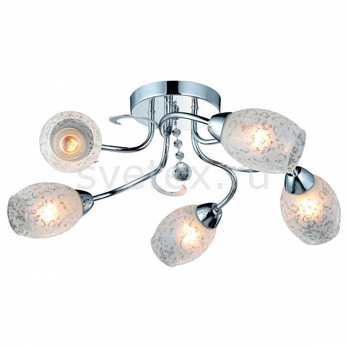 Потолочная люстра Arte LampЛюстры<br>Артикул - AR_A6055PL-5CC,Бренд - Arte Lamp (Италия),Коллекция - Debora,Гарантия, месяцы - 24,Время изготовления, дней - 1,Высота, мм - 140,Диаметр, мм - 630,Тип лампы - компактная люминесцентная [КЛЛ] ИЛИнакаливания ИЛИсветодиодная [LED],Общее кол-во ламп - 5,Напряжение питания лампы, В - 220,Максимальная мощность лампы, Вт - 60,Лампы в комплекте - отсутствуют,Цвет плафонов и подвесок - белый с рисунком,Тип поверхности плафонов - матовый,Материал плафонов и подвесок - стекло,Цвет арматуры - хром,Тип поверхности арматуры - глянцевый,Материал арматуры - металл,Количество плафонов - 5,Возможность подлючения диммера - можно, если установить лампу накаливания,Тип цоколя лампы - E14,Класс электробезопасности - I,Общая мощность, Вт - 300,Степень пылевлагозащиты, IP - 20,Диапазон рабочих температур - комнатная температура<br>