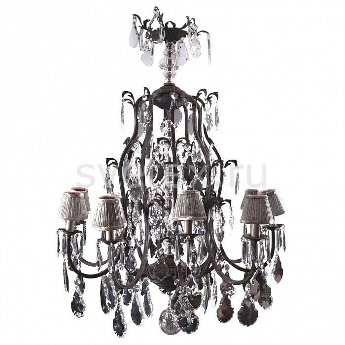 Подвесная люстра RoomersЛюстры матовые<br>Артикул - RMR_MOSCOW,Бренд - Roomers (Нидерланды),Коллекция - Москва,Гарантия, месяцы - 12,Высота, мм - 1250,Диаметр, мм - 1050,Тип лампы - компактная люминесцентная [КЛЛ] ИЛИнакаливания ИЛИсветодиодная [LED],Общее кол-во ламп - 9,Напряжение питания лампы, В - 220,Максимальная мощность лампы, Вт - 25,Лампы в комплекте - отсутствуют,Цвет плафонов и подвесок - серый, неокрашенный,Тип поверхности плафонов - матовый, прозрачный,Материал плафонов и подвесок - текстиль, хрусталь,Цвет арматуры - серо-коричневый,Тип поверхности арматуры - матовый,Материал арматуры - металл,Количество плафонов - 9,Возможность подлючения диммера - можно, если установить лампу накаливания,Тип цоколя лампы - E27,Класс электробезопасности - I,Общая мощность, Вт - 225,Степень пылевлагозащиты, IP - 20,Диапазон рабочих температур - комнатная температура,Дополнительные параметры - указана высота светильника без подвеса<br>