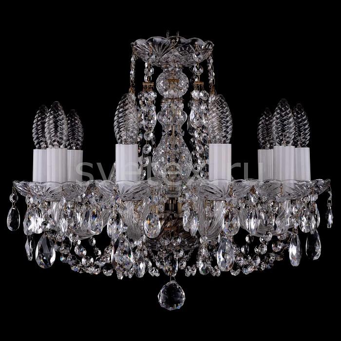 Фото Подвесная люстра Bohemia Ivele Crystal 1406 1406/10/141/Pa