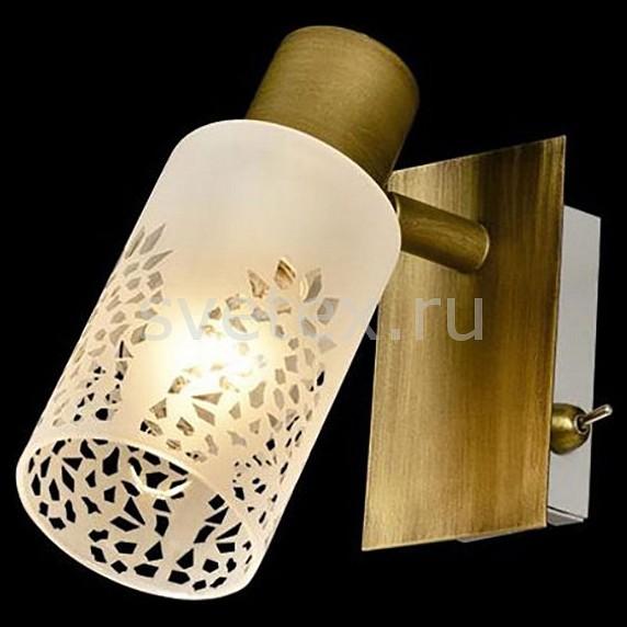 Бра EurosvetТочечные светильники<br>Артикул - EV_77330,Бренд - Eurosvet (Китай),Коллекция - Норд,Гарантия, месяцы - 24,Ширина, мм - 90,Высота, мм - 170,Выступ, мм - 170,Тип лампы - компактная люминесцентная [КЛЛ] ИЛИнакаливания ИЛИсветодиодная [LED],Общее кол-во ламп - 1,Напряжение питания лампы, В - 220,Максимальная мощность лампы, Вт - 40,Лампы в комплекте - отсутствуют,Цвет плафонов и подвесок - белый с неокрашенным рисунком,Тип поверхности плафонов - матовый,Материал плафонов и подвесок - стекло,Цвет арматуры - бронза,Тип поверхности арматуры - матовый,Материал арматуры - металл,Количество плафонов - 1,Наличие выключателя, диммера или пульта ДУ - выключатель,Возможность подлючения диммера - можно, если установить лампу накаливания,Тип цоколя лампы - E14,Класс электробезопасности - I,Степень пылевлагозащиты, IP - 20,Диапазон рабочих температур - комнатная температура,Дополнительные параметры - способ крепления светильника к стене - на монтажной пластине, светильник предназначен для  использования со скрытой проводкой, поворотный светильник<br>