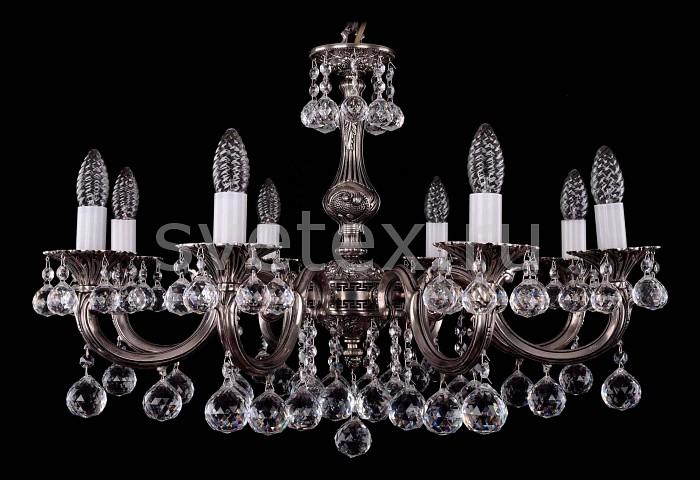 Фото Подвесная люстра Bohemia Ivele Crystal 1702 1702/8/A/NB/Balls