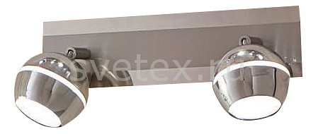 Спот CitiluxСпоты<br>Артикул - CL555521,Бренд - Citilux (Дания),Коллекция - Раймонд,Гарантия, месяцы - 24,Длина, мм - 300,Ширина, мм - 90,Выступ, мм - 150,Размер упаковки, мм - 310x140x100,Тип лампы - светодиодная [LED],Общее кол-во ламп - 2,Напряжение питания лампы, В - 220,Максимальная мощность лампы, Вт - 4.5,Цвет лампы - белый теплый,Лампы в комплекте - светодиодные [LED],Цвет плафонов и подвесок - хром,Тип поверхности плафонов - глянцевый,Материал плафонов и подвесок - металл,Цвет арматуры - хром,Тип поверхности арматуры - глянцевый,Материал арматуры - металл,Количество плафонов - 2,Возможность подлючения диммера - нельзя,Цветовая температура, K - 3000 K,Экономичнее лампы накаливания - в 15 раз,Класс электробезопасности - I,Общая мощность, Вт - 9,Степень пылевлагозащиты, IP - 20,Диапазон рабочих температур - комнатная температура,Дополнительные параметры - способ крепления светильника на стене и потолоке– на монтажной пластине, поворотный светильник<br>