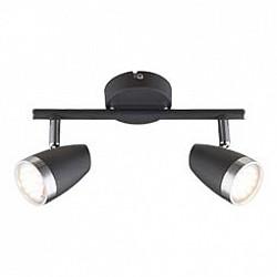 Спот GloboС 2 лампами<br>Артикул - GB_56110-2,Бренд - Globo (Австрия),Коллекция - Nero,Гарантия, месяцы - 24,Размер упаковки, мм - 140х85х265,Тип лампы - светодиодная [LED],Общее кол-во ламп - 2,Напряжение питания лампы, В - 220,Максимальная мощность лампы, Вт - 4,Лампы в комплекте - светодиодные [LED],Цвет плафонов и подвесок - черный с хромированой каймой,Тип поверхности плафонов - глянцевый, матовый,Материал плафонов и подвесок - металл,Цвет арматуры - хром, черный,Тип поверхности арматуры - глянцевый, матовый, металлик,Материал арматуры - металл,Возможность подлючения диммера - нельзя,Класс электробезопасности - I,Общая мощность, Вт - 8,Степень пылевлагозащиты, IP - 20,Диапазон рабочих температур - комнатная температура,Дополнительные параметры - поворотный светильник<br>