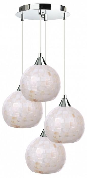 Подвесной светильник 33 идеиСветодиодные<br>Артикул - ZZ_PND.101.04.01.CH-S.10_4,Бренд - 33 идеи (Россия),Коллекция - CH_S.10,Высота, мм - 890,Диаметр, мм - 400,Размер упаковки, мм - 340x260x60, 4*160x160x140,Тип лампы - компактная люминесцентная [КЛЛ] ИЛИнакаливания ИЛИсветодиодная [LED],Общее кол-во ламп - 4,Напряжение питания лампы, В - 220,Максимальная мощность лампы, Вт - 60,Лампы в комплекте - отсутствуют,Цвет плафонов и подвесок - перламутровый,Тип поверхности плафонов - матовый,Материал плафонов и подвесок - стекло,Цвет арматуры - хром,Тип поверхности арматуры - глянцевый,Материал арматуры - металл,Количество плафонов - 4,Возможность подлючения диммера - можно, если установить лампу накаливания,Тип цоколя лампы - E14,Класс электробезопасности - I,Общая мощность, Вт - 240,Степень пылевлагозащиты, IP - 20,Диапазон рабочих температур - комнатная температура,Дополнительные параметры - диаметр основания светильника 250 мм, диаметр плафона 150 мм, способ крепления светильника к потолку – на монтажной пластине<br>