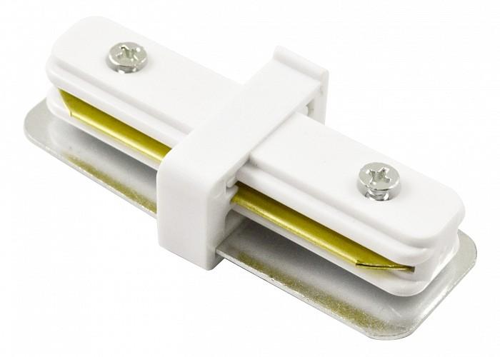 Соединитель Arte LampШинные<br>Артикул - AR_A130033,Бренд - Arte Lamp (Италия),Коллекция - Track Accessories,Гарантия, месяцы - 24,Время изготовления, дней - 1,Цвет арматуры - белый,Тип поверхности арматуры - глянцевый,Материал арматуры - дюралюминий<br>