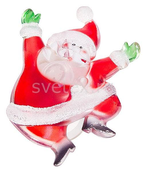 Фото Панно световое (8.5x6.5 см) Неон-Найт x 8.5 см x 6.5 см Санта Клаус 501-023