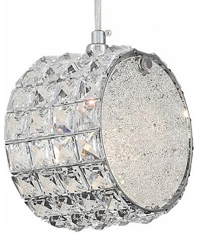 Подвесной светильник ST-LuceПодвесные светильники<br>Артикул - SL752.103.01,Бренд - ST-Luce (Китай),Коллекция - Piatto,Гарантия, месяцы - 24,Длина, мм - 160,Ширина, мм - 100,Высота, мм - 160,Тип лампы - компактная люминесцентная [КЛЛ] ИЛИнакаливания ИЛИсветодиодная [LED],Общее кол-во ламп - 1,Напряжение питания лампы, В - 220,Максимальная мощность лампы, Вт - 40,Лампы в комплекте - отсутствуют,Цвет плафонов и подвесок - неокрашенный,Тип поверхности плафонов - прозрачный,Материал плафонов и подвесок - стекло, хрусталь,Цвет арматуры - хром,Тип поверхности арматуры - глянцевый,Материал арматуры - металл,Количество плафонов - 1,Возможность подлючения диммера - можно, если установить лампу накаливания,Тип цоколя лампы - E14,Класс электробезопасности - I,Степень пылевлагозащиты, IP - 20,Диапазон рабочих температур - комнатная температура,Дополнительные параметры - способ крепления светильника к потолку - на монтажной пластине, регулируется по высоте<br>