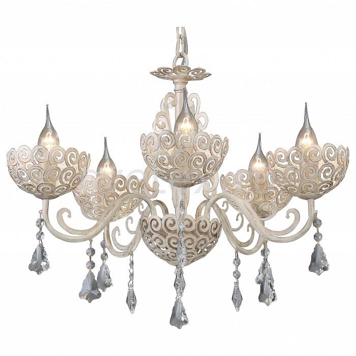Подвесная люстра Arte Lamp5 или 6 ламп<br>Артикул - AR_A4554LM-5WG,Бренд - Arte Lamp (Италия),Коллекция - Fleece,Гарантия, месяцы - 24,Высота, мм - 470-970,Диаметр, мм - 570,Тип лампы - компактная люминесцентная [КЛЛ] ИЛИнакаливания ИЛИсветодиодная [LED],Общее кол-во ламп - 5,Напряжение питания лампы, В - 220,Максимальная мощность лампы, Вт - 40,Лампы в комплекте - отсутствуют,Цвет плафонов и подвесок - неокрашенный,Тип поверхности плафонов - прозрачный,Материал плафонов и подвесок - хрусталь,Цвет арматуры - белый, золото,Тип поверхности арматуры - матовый,Материал арматуры - металл,Возможность подлючения диммера - можно, если установить лампу накаливания,Тип цоколя лампы - E14,Класс электробезопасности - I,Общая мощность, Вт - 200,Степень пылевлагозащиты, IP - 20,Диапазон рабочих температур - комнатная температура,Дополнительные параметры - способ крепления светильника к потолку – на крюке<br>