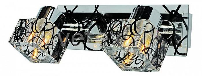 Спот OmniluxСпоты<br>Артикул - OM_OML-22601-02,Бренд - Omnilux (Италия),Коллекция - OM-226,Гарантия, месяцы - 24,Время изготовления, дней - 1,Длина, мм - 280,Ширина, мм - 120,Выступ, мм - 140,Тип лампы - галогеновая,Общее кол-во ламп - 2,Напряжение питания лампы, В - 220,Максимальная мощность лампы, Вт - 40,Цвет лампы - белый теплый,Лампы в комплекте - галогеновые G9,Цвет плафонов и подвесок - неокрашенный с черным рисунком,Тип поверхности плафонов - прозрачный,Материал плафонов и подвесок - стекло,Цвет арматуры - неокрашенный с черным рисунком, черный,Тип поверхности арматуры - глянцевый,Материал арматуры - стекло, металл,Количество плафонов - 2,Возможность подлючения диммера - можно,Форма и тип колбы - пальчиковая,Тип цоколя лампы - G9,Цветовая температура, K - 2800 - 3200 K,Экономичнее лампы накаливания - на 50%,Класс электробезопасности - I,Общая мощность, Вт - 80,Степень пылевлагозащиты, IP - 20,Диапазон рабочих температур - комнатная температура,Дополнительные параметры - поворотный светильник<br>