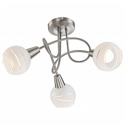Люстра на штанге GloboНе более 4 ламп<br>Артикул - GB_54341-3O,Бренд - Globo (Австрия),Коллекция - Elliott,Гарантия, месяцы - 24,Высота, мм - 245,Диаметр, мм - 390,Тип лампы - компактная люминесцентная [КЛЛ] ИЛИнакаливания ИЛИсветодиодная [LED],Общее кол-во ламп - 3,Напряжение питания лампы, В - 220,Максимальная мощность лампы, Вт - 40,Лампы в комплекте - отсутствуют,Цвет плафонов и подвесок - белый полосатый,Тип поверхности плафонов - матовый,Материал плафонов и подвесок - стекло,Цвет арматуры - хром,Тип поверхности арматуры - глянцевый,Материал арматуры - металл,Возможность подлючения диммера - можно, если установить лампу накаливания,Тип цоколя лампы - E14,Класс электробезопасности - I,Общая мощность, Вт - 120,Степень пылевлагозащиты, IP - 20,Диапазон рабочих температур - комнатная температура,Дополнительные параметры - способ крепления светильника к потолку - на монтажной пластине<br>