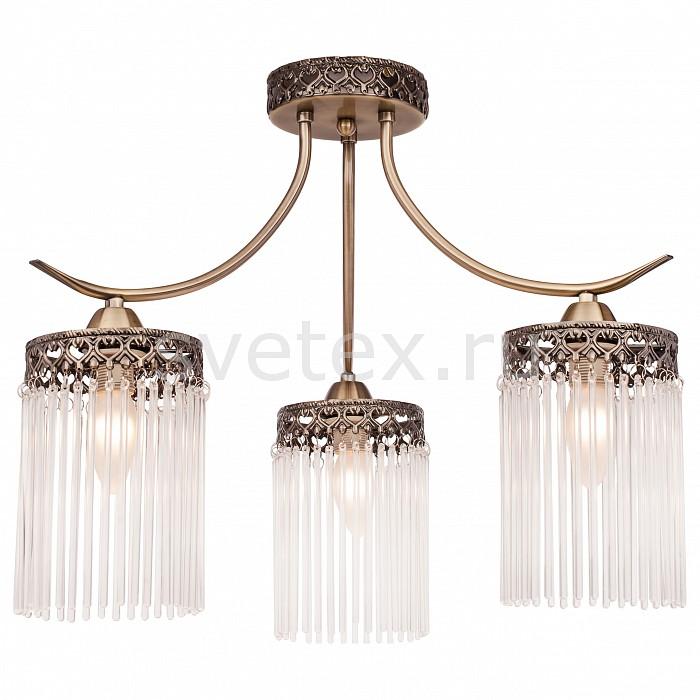 Потолочная люстра SilverLightНе более 4 ламп<br>Артикул - SL_715.53.3,Бренд - SilverLight (Франция),Коллекция - Venezia,Гарантия, месяцы - 24,Высота, мм - 400,Диаметр, мм - 500,Тип лампы - компактная люминесцентная [КЛЛ] ИЛИнакаливания ИЛИсветодиодная [LED],Общее кол-во ламп - 3,Напряжение питания лампы, В - 220,Максимальная мощность лампы, Вт - 60,Лампы в комплекте - отсутствуют,Цвет плафонов и подвесок - неокрашенный,Тип поверхности плафонов - матовый,Материал плафонов и подвесок - стекло,Цвет арматуры - бронза,Тип поверхности арматуры - матовый, рельефный,Материал арматуры - металл,Возможность подлючения диммера - можно, если установить лампу накаливания,Форма и тип колбы - свеча ИЛИ свеча на ветру,Тип цоколя лампы - E14,Класс электробезопасности - I,Общая мощность, Вт - 180,Степень пылевлагозащиты, IP - 20,Диапазон рабочих температур - комнатная температура,Дополнительные параметры - способ крепления светильника на потолке - на монтажной пластине<br>