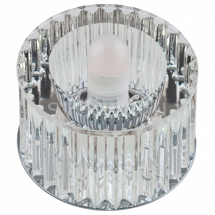Встраиваемый светильник UnielСтеклянные<br>Примечание - прозрачный,Артикул - UL_09980,Бренд - Uniel (Китай),Коллекция - Fiore,Гарантия, месяцы - 24,Высота, мм - 65,Выступ, мм - 45,Глубина, мм - 20,Диаметр, мм - 80,Размер врезного отверстия, мм - d65,Тип лампы - светодиодная (LED), галогеновая,Общее кол-во ламп - 1,Максимальная мощность лампы, Вт - 40,Лампы в комплекте - отсутствуют,Цвет плафонов и подвесок - неокрашенный,Тип поверхности плафонов - прозрачный,Материал плафонов и подвесок - стекло,Цвет арматуры - хром,Тип поверхности арматуры - глянцевый,Материал арматуры - металл,Возможность подлючения диммера - можно, если установить галогеновую лампу,Форма и тип колбы - пальчиковая,Тип цоколя лампы - G9,Класс электробезопасности - I,Напряжение питания, В - 220,Степень пылевлагозащиты, IP - 20,Диапазон рабочих температур - комнатная температура<br>