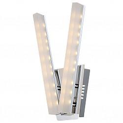 Бра GloboПолимерный плафон<br>Артикул - GB_67057-2W,Бренд - Globo (Австрия),Коллекция - Varazze,Гарантия, месяцы - 24,Высота, мм - 360,Размер упаковки, мм - 390х210х150,Тип лампы - светодиодная [LED],Общее кол-во ламп - 2,Напряжение питания лампы, В - 220,Максимальная мощность лампы, Вт - 5,Лампы в комплекте - светодиодные [LED],Цвет плафонов и подвесок - белый,Тип поверхности плафонов - матовый,Материал плафонов и подвесок - акрил,Цвет арматуры - хром,Тип поверхности арматуры - глянцевый, металлик,Материал арматуры - металл,Возможность подлючения диммера - нельзя,Класс электробезопасности - I,Общая мощность, Вт - 10,Степень пылевлагозащиты, IP - 20,Диапазон рабочих температур - комнатная температура,Дополнительные параметры - светильник предназначен для использования со скрытой проводкой<br>