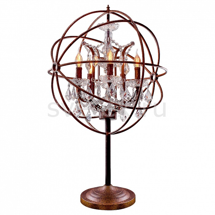 Настольная лампа Loft itСтеклянный плафон<br>Артикул - LF_LOFT1897T,Бренд - Loft it (Испания),Коллекция - 1897,Гарантия, месяцы - 24,Высота, мм - 650,Диаметр, мм - 350,Тип лампы - компактная люминесцентная [КЛЛ] ИЛИнакаливания ИЛИсветодиодная [LED],Общее кол-во ламп - 5,Напряжение питания лампы, В - 220,Максимальная мощность лампы, Вт - 40,Лампы в комплекте - отсутствуют,Цвет плафонов и подвесок - неокрашенный,Тип поверхности плафонов - прозрачный,Материал плафонов и подвесок - стекло,Цвет арматуры - коричневый состаренный, неокрашенный,Тип поверхности арматуры - матовый, прозрачный,Материал арматуры - металл, стекло,Наличие выключателя, диммера или пульта ДУ - выключатель на проводе,Компоненты, входящие в комплект - провод электропитания с вилкой без заземления,Форма и тип колбы - свеча ИЛИ свеча на ветру,Тип цоколя лампы - E14,Класс электробезопасности - II,Общая мощность, Вт - 200,Степень пылевлагозащиты, IP - 20,Диапазон рабочих температур - комнатная температура<br>