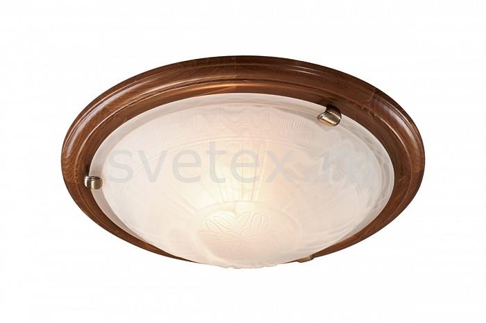 Фото Накладной светильник Sonex Lufe Wood 136