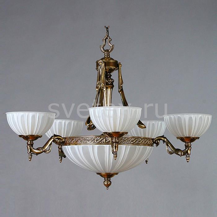 Подвесная люстра Ambiente by BrizziСветодиодные<br>Артикул - BA_02228_5_pb,Бренд - Ambiente by Brizzi (Испания),Коллекция - Navarra,Гарантия, месяцы - 24,Высота, мм - 580,Диаметр, мм - 760,Тип лампы - светодиодная [LED],Общее кол-во ламп - 10,Напряжение питания лампы, В - 220,Максимальная мощность лампы, Вт - 4,Цвет лампы - белый теплый,Лампы в комплекте - светодиодные [LED] E27,Цвет плафонов и подвесок - белый полосатый,Тип поверхности плафонов - матовый,Материал плафонов и подвесок - стекло,Цвет арматуры - бронза античная,Тип поверхности арматуры - матовый, рельефнный,Материал арматуры - металл,Количество плафонов - 6,Возможность подлючения диммера - нельзя,Форма и тип колбы - свеча ИЛИ свеча на ветру,Тип цоколя лампы - E27,Цветовая температура, K - 2700 K,Световой поток, лм - 3200,Экономичнее лампы накаливания - В 8, 8 раза,Светоотдача, лм/Вт - 80,Класс электробезопасности - I,Общая мощность, Вт - 40,Степень пылевлагозащиты, IP - 20,Диапазон рабочих температур - комнатная температура,Дополнительные параметры - способ крепления светильника к потолку - на крюке, указана высота светильника без подвеса<br>