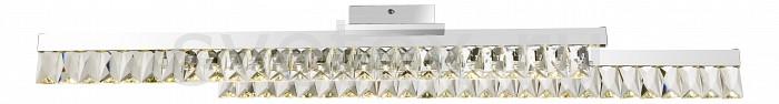 Накладной светильник GloboНакладные светильники<br>Артикул - GB_49234-32,Бренд - Globo (Австрия),Коллекция - Jason,Гарантия, месяцы - 24,Длина, мм - 1000,Ширина, мм - 130,Высота, мм - 110,Тип лампы - светодиодная [LED],Общее кол-во ламп - 2,Напряжение питания лампы, В - 220,Максимальная мощность лампы, Вт - 16,Цвет лампы - белый,Лампы в комплекте - светодиодные [LED],Цвет плафонов и подвесок - неокрашенный,Тип поверхности плафонов - прозрачный,Материал плафонов и подвесок - хрусталь K5,Цвет арматуры - хром,Тип поверхности арматуры - глянцевый,Материал арматуры - металл,Количество плафонов - 2,Возможность подлючения диммера - нельзя,Цветовая температура, K - 4000 K,Световой поток, лм - 2520,Экономичнее лампы накаливания - В 5, 4 раза,Светоотдача, лм/Вт - 79,Класс электробезопасности - I,Общая мощность, Вт - 32,Степень пылевлагозащиты, IP - 20,Диапазон рабочих температур - комнатная температура,Дополнительные параметры - способ крепления светильника к потолку - на монтажной пластине<br>