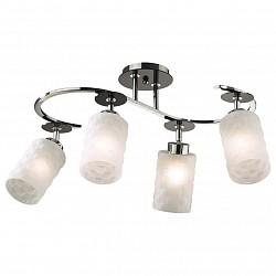 Люстра на штанге Odeon LightНе более 4 ламп<br>Артикул - OD_2282_4C,Бренд - Odeon Light (Италия),Коллекция - Bila,Гарантия, месяцы - 24,Высота, мм - 350,Тип лампы - компактная люминесцентная [КЛЛ] ИЛИнакаливания ИЛИсветодиодная [LED],Общее кол-во ламп - 4,Напряжение питания лампы, В - 220,Максимальная мощность лампы, Вт - 60,Лампы в комплекте - отсутствуют,Цвет плафонов и подвесок - белый,Тип поверхности плафонов - матовый, рельефный,Материал плафонов и подвесок - стекло,Цвет арматуры - никель,Тип поверхности арматуры - глянцевый,Материал арматуры - металл,Возможность подлючения диммера - можно, если установить лампу накаливания,Тип цоколя лампы - E27,Класс электробезопасности - I,Общая мощность, Вт - 240,Степень пылевлагозащиты, IP - 20,Диапазон рабочих температур - комнатная температура<br>