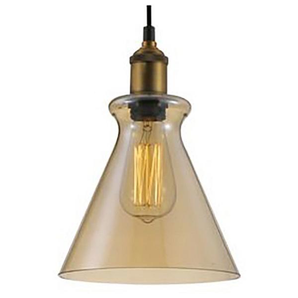 Подвесной светильник Crystal LuxБарные<br>Артикул - CU_1300_201,Бренд - Crystal Lux (Испания),Коллекция - Campanella,Гарантия, месяцы - 24,Высота, мм - 260-1460,Диаметр, мм - 200,Тип лампы - компактная люминесцентная [КЛЛ] ИЛИнакаливания ИЛИсветодиодная [LED],Общее кол-во ламп - 1,Напряжение питания лампы, В - 220,Максимальная мощность лампы, Вт - 60,Лампы в комплекте - отсутствуют,Цвет плафонов и подвесок - янтарный,Тип поверхности плафонов - прозрачный,Материал плафонов и подвесок - стекло,Цвет арматуры - бронза,Тип поверхности арматуры - матовый,Материал арматуры - металл,Количество плафонов - 1,Возможность подлючения диммера - можно, если установить лампу накаливания,Тип цоколя лампы - E27,Класс электробезопасности - I,Степень пылевлагозащиты, IP - 20,Диапазон рабочих температур - комнатная температура,Дополнительные параметры - способ крепления светильника к потолку - на монтажной пластине, регулируется по высоте<br>