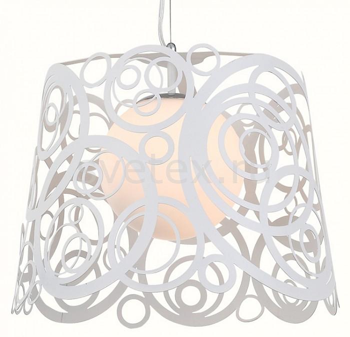 Подвесной светильник ST-LuceБарные<br>Артикул - SL230.503.01,Бренд - ST-Luce (Италия),Коллекция - Soavita,Гарантия, месяцы - 24,Время изготовления, дней - 1,Высота, мм - 370-1200,Диаметр, мм - 430,Размер упаковки, мм - 350х450х400,Тип лампы - компактная люминесцентная [КЛЛ] ИЛИнакаливания ИЛИсветодиодная [LED],Общее кол-во ламп - 1,Напряжение питания лампы, В - 220,Максимальная мощность лампы, Вт - 60,Лампы в комплекте - отсутствуют,Цвет плафонов и подвесок - белый,Тип поверхности плафонов - матовый, прозрачный,Материал плафонов и подвесок - металл, стекло,Цвет арматуры - белый,Тип поверхности арматуры - матовый,Материал арматуры - металл,Количество плафонов - 1,Возможность подлючения диммера - можно, если установить лампу накаливания,Тип цоколя лампы - E27,Класс электробезопасности - I,Степень пылевлагозащиты, IP - 20,Диапазон рабочих температур - комнатная температура,Дополнительные параметры - регулируется по высоте,  способ крепления светильника к потолку – монтажной пластине<br>