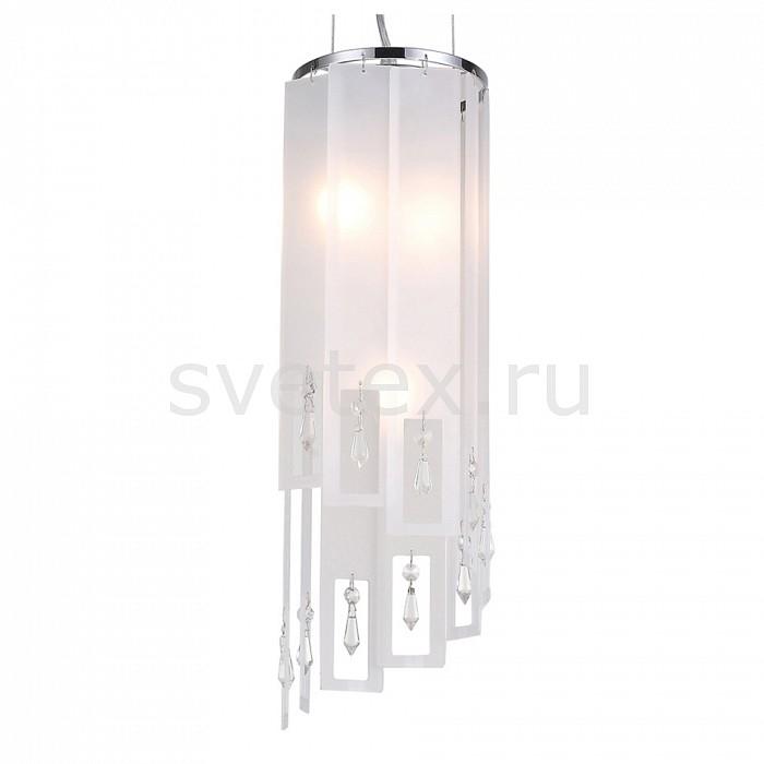 Подвесной светильник ST-LuceПодвесные светильники<br>Артикул - SL658.503.03,Бренд - ST-Luce (Китай),Коллекция - Cascata,Гарантия, месяцы - 24,Время изготовления, дней - 1,Высота, мм - 530-1200,Диаметр, мм - 160,Размер упаковки, мм - 565х225х140,Тип лампы - компактная люминесцентная [КЛЛ] ИЛИнакаливания ИЛИсветодиодная [LED],Общее кол-во ламп - 3,Напряжение питания лампы, В - 220,Максимальная мощность лампы, Вт - 40,Лампы в комплекте - отсутствуют,Цвет плафонов и подвесок - белый, неокрашенный,Тип поверхности плафонов - матовый, прозрачный,Материал плафонов и подвесок - стекло, хрусталь,Цвет арматуры - хром,Тип поверхности арматуры - глянцевый,Материал арматуры - металл,Количество плафонов - 1,Возможность подлючения диммера - можно, если установить лампу накаливания,Тип цоколя лампы - E14,Класс электробезопасности - I,Общая мощность, Вт - 120,Степень пылевлагозащиты, IP - 20,Диапазон рабочих температур - комнатная температура,Дополнительные параметры - регулируется по высоте,  способ крепления светильника к потолку – на крюке<br>