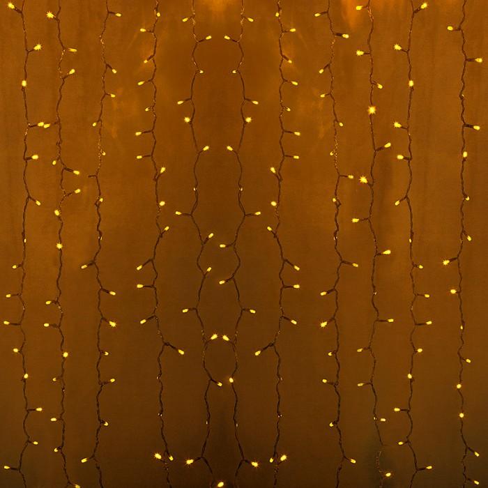 Фото Занавес световой Неон-Найт Светодиодный Дождь 235-151-6