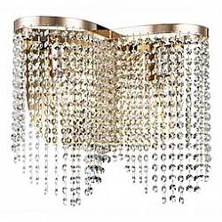 Накладной светильник MaytoniСветодиодные<br>Артикул - MY_DIA600-02-G,Бренд - Maytoni (Германия),Коллекция - Toils,Гарантия, месяцы - 24,Высота, мм - 350,Тип лампы - компактная люминесцентная [КЛЛ] ИЛИнакаливания ИЛИсветодиодная [LED],Общее кол-во ламп - 2,Напряжение питания лампы, В - 220,Максимальная мощность лампы, Вт - 60,Лампы в комплекте - отсутствуют,Цвет плафонов и подвесок - неокрашенный,Тип поверхности плафонов - прозрачный,Материал плафонов и подвесок - хрусталь,Цвет арматуры - золото,Тип поверхности арматуры - глянцевый,Материал арматуры - металл,Возможность подлючения диммера - можно, если установить лампу накаливания,Тип цоколя лампы - E14,Класс электробезопасности - I,Общая мощность, Вт - 120,Степень пылевлагозащиты, IP - 20,Диапазон рабочих температур - комнатная температура,Дополнительные параметры - способ крепления светильника к стене - на монтажной пластине, светильник предназначен для использования со скрытой проводкой<br>
