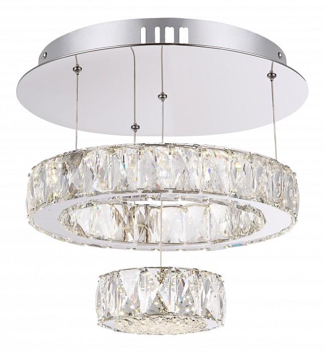 Подвесной светильник GloboПодвесные светильники<br>Артикул - GB_49350D1,Бренд - Globo (Австрия),Коллекция - Amur,Гарантия, месяцы - 24,Высота, мм - 470,Диаметр, мм - 350,Тип лампы - светодиодная [LED],Общее кол-во ламп - 1,Напряжение питания лампы, В - 48,Максимальная мощность лампы, Вт - 28,Цвет лампы - белый,Лампы в комплекте - светодиодная [LED],Цвет плафонов и подвесок - неокрашенный,Тип поверхности плафонов - прозрачный,Материал плафонов и подвесок - стекло, хрусталь K5,Цвет арматуры - хром,Тип поверхности арматуры - глянцевый,Материал арматуры - металл,Количество плафонов - 1,Наличие выключателя, диммера или пульта ДУ - пульт ДУ,Компоненты, входящие в комплект - трансформатор 48В,Цветовая температура, K - 4000 K,Световой поток, лм - 2380,Экономичнее лампы накаливания - в 5.9 раза,Светоотдача, лм/Вт - 85,Класс электробезопасности - I,Напряжение питания, В - 220,Степень пылевлагозащиты, IP - 20,Диапазон рабочих температур - комнатная температура,Дополнительные параметры - способ крепления светильника к потолку -  на монтажной пластине, регулируется по высоте<br>