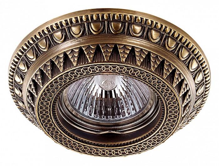 Фото Встраиваемый светильник Novotech Vintage 370006