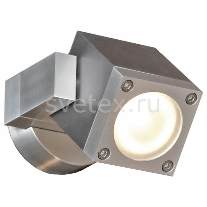 Светильник на штанге LussoleСветильники на штанге<br>Артикул - LSQ-9511-01,Бренд - Lussole (Италия),Коллекция - Vacri,Гарантия, месяцы - 24,Время изготовления, дней - 1,Длина, мм - 90,Ширина, мм - 70,Выступ, мм - 130,Тип лампы - галогеновая,Общее кол-во ламп - 1,Напряжение питания лампы, В - 220,Максимальная мощность лампы, Вт - 35,Цвет лампы - белый теплый,Лампы в комплекте - галогеновая GU10,Цвет плафонов и подвесок - серебряный металлик,Тип поверхности плафонов - глянцевый,Материал плафонов и подвесок - сталь, стекло,Цвет арматуры - серебро,Тип поверхности арматуры - глянцевый,Материал арматуры - сталь,Количество плафонов - 1,Форма и тип колбы - полусферическая с рефлектором,Тип цоколя лампы - GU10,Цветовая температура, K - 2800 - 3200 K,Экономичнее лампы накаливания - на 50%,Класс электробезопасности - I,Степень пылевлагозащиты, IP - 54,Дополнительные параметры - поворотный светильник<br>