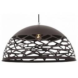 Подвесной светильник ST-LuceБарные<br>Артикул - SL272.453.01,Бренд - ST-Luce (Китай),Коллекция - Velo,Гарантия, месяцы - 24,Высота, мм - 210-1280,Диаметр, мм - 500,Размер упаковки, мм - 530x530x315,Тип лампы - компактная люминесцентная [КЛЛ] ИЛИнакаливания ИЛИсветодиодная [LED],Общее кол-во ламп - 1,Напряжение питания лампы, В - 220,Максимальная мощность лампы, Вт - 40,Лампы в комплекте - отсутствуют,Цвет плафонов и подвесок - коричневый,Тип поверхности плафонов - матовый,Материал плафонов и подвесок - металл,Цвет арматуры - коричневый,Тип поверхности арматуры - матовый,Материал арматуры - металл,Возможность подлючения диммера - можно, если установить лампу накаливания,Тип цоколя лампы - E27,Класс электробезопасности - I,Степень пылевлагозащиты, IP - 20,Диапазон рабочих температур - комнатная температура,Дополнительные параметры - способ крепления светильника к потолку - на монтажной пластине, регулируется по высоте<br>