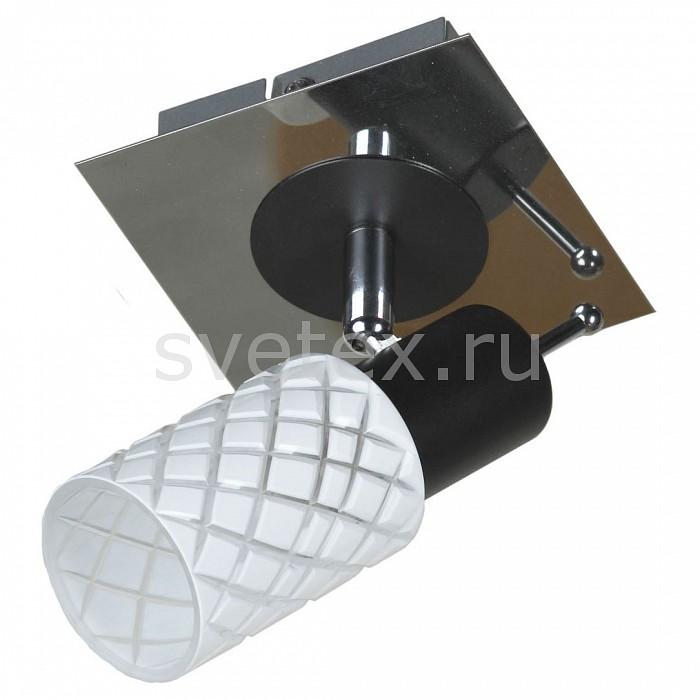 Спот LussoleСпоты<br>Артикул - LSX-5601-01,Бренд - Lussole (Италия),Коллекция - LSX-560,Гарантия, месяцы - 24,Время изготовления, дней - 1,Длина, мм - 130,Ширина, мм - 100,Выступ, мм - 180,Тип лампы - компактная люминесцентная [КЛЛ] ИЛИнакаливания ИЛИсветодиодная [LED],Общее кол-во ламп - 1,Напряжение питания лампы, В - 220,Максимальная мощность лампы, Вт - 40,Лампы в комплекте - отсутствуют,Цвет плафонов и подвесок - белый с рисунком,Тип поверхности плафонов - матовый,Материал плафонов и подвесок - стекло,Цвет арматуры - хром, черный,Тип поверхности арматуры - глянцевый,Материал арматуры - металл,Количество плафонов - 1,Возможность подлючения диммера - можно, если установить лампу накаливания,Тип цоколя лампы - E14,Класс электробезопасности - I,Степень пылевлагозащиты, IP - 20,Диапазон рабочих температур - комнатная температура,Дополнительные параметры - поворотный светильник<br>