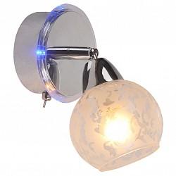Бра IDLampС 1 лампой<br>Артикул - ID_200_1A-Chrome,Бренд - IDLamp (Италия),Коллекция - 200,Время изготовления, дней - 1,Высота, мм - 190,Тип лампы - компактная люминесцентная [КЛЛ] ИЛИнакаливания ИЛИсветодиодная [LED],Общее кол-во ламп - 1,Напряжение питания лампы, В - 220,Максимальная мощность лампы, Вт - 60,Лампы в комплекте - отсутствуют,Цвет плафонов и подвесок - белый с рисунком,Тип поверхности плафонов - матовый, прозрачный,Материал плафонов и подвесок - стекло,Цвет арматуры - хром,Тип поверхности арматуры - глянцевый,Материал арматуры - металл,Возможность подлючения диммера - можно, если установить лампу накаливания,Тип цоколя лампы - E14,Класс электробезопасности - I,Степень пылевлагозащиты, IP - 20,Диапазон рабочих температур - комнатная температура,Дополнительные параметры - поворотный светильник, предназначен для использования со скрытой проводкой, способ крепления светильника к стене – на монтажной пластине<br>
