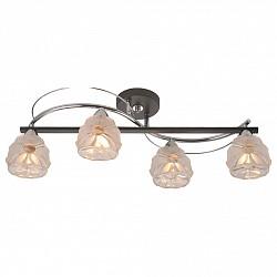 Потолочная люстра IDLampНе более 4 ламп<br>Артикул - ID_218_4PF-Blackchrome,Бренд - IDLamp (Италия),Коллекция - 218,Высота, мм - 220,Тип лампы - компактная люминесцентная [КЛЛ] ИЛИнакаливания ИЛИсветодиодная [LED],Общее кол-во ламп - 4,Напряжение питания лампы, В - 220,Максимальная мощность лампы, Вт - 60,Лампы в комплекте - отсутствуют,Цвет плафонов и подвесок - неокрашенный,Тип поверхности плафонов - матовый, рельефный,Материал плафонов и подвесок - стекло,Цвет арматуры - хром, черный,Тип поверхности арматуры - глянцевый, матовый,Материал арматуры - металл,Возможность подлючения диммера - можно, если установить лампу накаливания,Тип цоколя лампы - E14,Класс электробезопасности - I,Общая мощность, Вт - 240,Степень пылевлагозащиты, IP - 20,Диапазон рабочих температур - комнатная температура,Дополнительные параметры - способ крепления светильника к потолку – на монтажной пластине<br>