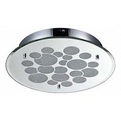 Накладной светильник MaytoniКруглые<br>Артикул - MY_MOD445-11-N,Бренд - Maytoni (Германия),Коллекция - Glitter,Гарантия, месяцы - 24,Высота, мм - 65,Диаметр, мм - 350,Размер упаковки, мм - 430x430x110,Тип лампы - светодиодная [LED],Общее кол-во ламп - 1,Максимальная мощность лампы, Вт - 18,Лампы в комплекте - светодиодная [LED],Цвет плафонов и подвесок - неокрашенный с рисунком,Тип поверхности плафонов - матовый, прозрачный,Материал плафонов и подвесок - стекло,Цвет арматуры - хром,Тип поверхности арматуры - глянцевый,Материал арматуры - металл,Возможность подлючения диммера - нельзя,Класс электробезопасности - I,Степень пылевлагозащиты, IP - 20,Диапазон рабочих температур - комнатная температура,Дополнительные параметры - способ крепления светильника к потолку - на монтажной пластине<br>