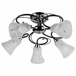 Люстра на штанге TopLight5 или 6 ламп<br>Артикул - TPL_TL2760X-05WC,Бренд - TopLight (Россия),Коллекция - Linda,Гарантия, месяцы - 24,Высота, мм - 290,Диаметр, мм - 600,Тип лампы - компактная люминесцентная [КЛЛ] ИЛИнакаливания ИЛИсветодиодная [LED],Общее кол-во ламп - 5,Напряжение питания лампы, В - 220,Максимальная мощность лампы, Вт - 40,Лампы в комплекте - отсутствуют,Цвет плафонов и подвесок - белый с неокрашенным рисунком,Тип поверхности плафонов - матовый, рельефный,Материал плафонов и подвесок - стекло,Цвет арматуры - венге, хром,Тип поверхности арматуры - глянцевый, матовый,Материал арматуры - металл,Возможность подлючения диммера - можно, если установить лампу накаливания,Тип цоколя лампы - E14,Класс электробезопасности - I,Общая мощность, Вт - 200,Степень пылевлагозащиты, IP - 20,Диапазон рабочих температур - комнатная температура,Дополнительные параметры - способ крепления светильника к потолку - на монтажной пластине<br>