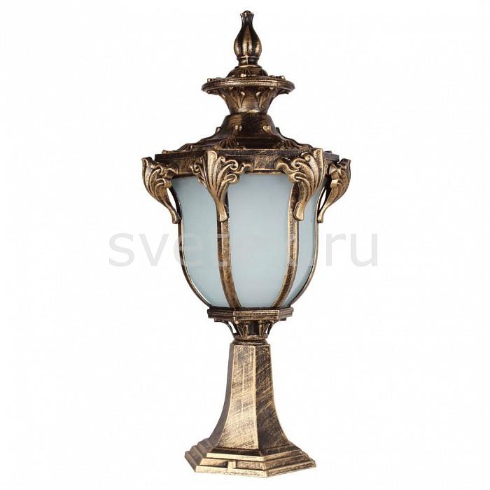 Наземный низкий светильник FeronСветильники<br>Артикул - FE_11432,Бренд - Feron (Китай),Коллекция - Флоренция,Гарантия, месяцы - 24,Ширина, мм - 215,Высота, мм - 520,Выступ, мм - 245,Тип лампы - компактная люминесцентная [КЛЛ] ИЛИнакаливания ИЛИсветодиодная [LED],Общее кол-во ламп - 1,Напряжение питания лампы, В - 220,Максимальная мощность лампы, Вт - 60,Лампы в комплекте - отсутствуют,Цвет плафонов и подвесок - белый,Тип поверхности плафонов - матовый,Материал плафонов и подвесок - стекло,Цвет арматуры - золото черненое,Тип поверхности арматуры - матовый, рельефный,Материал арматуры - силумин,Количество плафонов - 1,Тип цоколя лампы - E27,Класс электробезопасности - I,Степень пылевлагозащиты, IP - 44,Диапазон рабочих температур - от -40^C до +40^C<br>