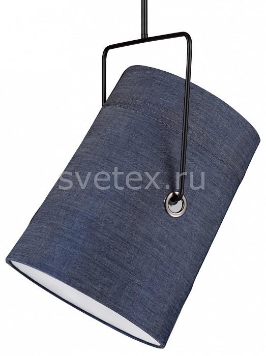 Подвесной светильник Studio 1640-1P FavouriteСветодиодные<br>Артикул - FV_1640-1P,Бренд - Favourite (Германия),Коллекция - Studio,Гарантия, месяцы - 24,Высота, мм - 400-1400,Диаметр, мм - 215,Тип лампы - компактная люминесцентная [КЛЛ] ИЛИсветодиодная [LED],Общее кол-во ламп - 1,Напряжение питания лампы, В - 220,Максимальная мощность лампы, Вт - 25,Лампы в комплекте - отсутствуют,Цвет плафонов и подвесок - джинсовый,Тип поверхности плафонов - матовый,Материал плафонов и подвесок - текстиль,Цвет арматуры - черный,Тип поверхности арматуры - матовый,Материал арматуры - металл,Количество плафонов - 1,Возможность подлючения диммера - можно, если установить лампу накаливания,Тип цоколя лампы - E14,Класс электробезопасности - I,Степень пылевлагозащиты, IP - 20,Диапазон рабочих температур - комнатная температура,Дополнительные параметры - способ крепления светильника к потолку - на крюке, регулируется по высоте, поворотный светильник<br>