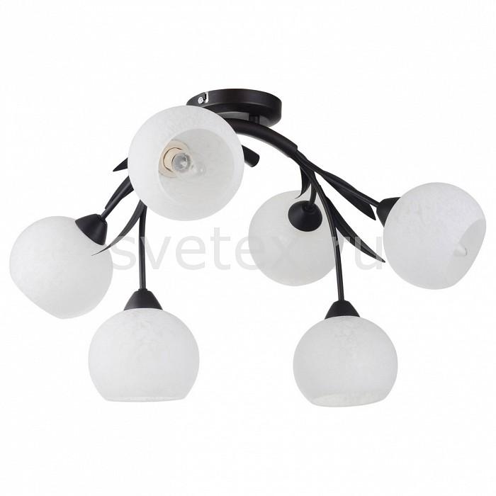 Потолочная люстра LussoleЛюстры<br>Артикул - LSF-6283-06,Бренд - Lussole (Италия),Коллекция - Bagheria,Гарантия, месяцы - 24,Время изготовления, дней - 1,Длина, мм - 770,Ширина, мм - 330,Высота, мм - 330,Тип лампы - компактная люминесцентная [КЛЛ] ИЛИнакаливания ИЛИсветодиодная [LED],Общее кол-во ламп - 6,Напряжение питания лампы, В - 220,Максимальная мощность лампы, Вт - 40,Лампы в комплекте - отсутствуют,Цвет плафонов и подвесок - белый с рисунком,Тип поверхности плафонов - матовый,Материал плафонов и подвесок - стекло,Цвет арматуры - коричневый,Тип поверхности арматуры - матовый,Материал арматуры - металл,Количество плафонов - 6,Возможность подлючения диммера - можно, если установить лампу накаливания,Тип цоколя лампы - E14,Класс электробезопасности - I,Общая мощность, Вт - 240,Степень пылевлагозащиты, IP - 20,Диапазон рабочих температур - комнатная температура<br>