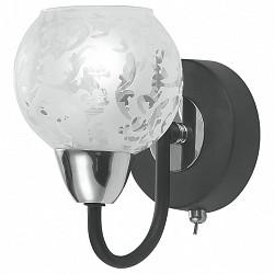 Бра IDLampС 1 лампой<br>Артикул - ID_382_1PF-Blackchrome,Бренд - IDLamp (Италия),Коллекция - 382,Время изготовления, дней - 1,Высота, мм - 160,Тип лампы - компактная люминесцентная [КЛЛ] ИЛИнакаливания ИЛИсветодиодная [LED],Общее кол-во ламп - 1,Напряжение питания лампы, В - 220,Максимальная мощность лампы, Вт - 60,Лампы в комплекте - отсутствуют,Цвет плафонов и подвесок - белый с рисунком,Тип поверхности плафонов - прозрачный,Материал плафонов и подвесок - стекло,Цвет арматуры - хром, черный,Тип поверхности арматуры - глянцевый, матовый,Материал арматуры - металл,Тип цоколя лампы - E14,Класс электробезопасности - I,Степень пылевлагозащиты, IP - 20,Диапазон рабочих температур - комнатная температура,Дополнительные параметры - светильник предназначен для использования со скрытой проводкой, способ крепления светильника к стене – на монтажной пластине<br>