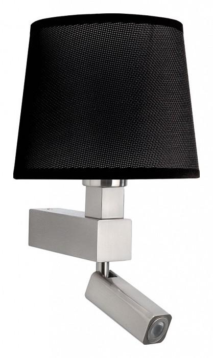 Бра с подсветкой MantraСветодиодные<br>Артикул - MN_5234_5238,Бренд - Mantra (Испания),Коллекция - Bahia,Гарантия, месяцы - 24,Ширина, мм - 200,Высота, мм - 334,Выступ, мм - 215,Тип лампы - компактная люминесцентная [КЛЛ], светодиодная [LED] ИЛИсветодиодные [LED],Общее кол-во ламп - 2,Напряжение питания лампы, В - 220,Максимальная мощность лампы, Вт - 3, 13,Цвет лампы - белый теплый,Лампы в комплекте - светодиодная [LED],Цвет плафонов и подвесок - черный,Тип поверхности плафонов - матовый,Материал плафонов и подвесок - текстиль,Цвет арматуры - никель,Тип поверхности арматуры - сатин,Материал арматуры - металл,Количество плафонов - 1,Наличие выключателя, диммера или пульта ДУ - выключатель,Тип цоколя лампы - E27,Цветовая температура, K - 3000 K,Световой поток, лм - 200,Экономичнее лампы накаливания - в 8.3 раза,Светоотдача, лм/Вт - 67,Класс электробезопасности - I,Общая мощность, Вт - 16,Степень пылевлагозащиты, IP - 20,Диапазон рабочих температур - комнатная температура,Дополнительные параметры - способ крепления светильника на стене – на монтажной пластине, светильник предназначен для использования со скрытой проводкой, поворотный светильник<br>