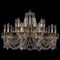 Подвесная люстра Bohemia Ivele CrystalБолее 6 ламп<br>Артикул - BI_1703_20_320_C_GB,Бренд - Bohemia Ivele Crystal (Чехия),Коллекция - 1703,Гарантия, месяцы - 24,Высота, мм - 650,Диаметр, мм - 830,Размер упаковки, мм - 640x640x350,Тип лампы - компактная люминесцентная [КЛЛ] ИЛИнакаливания ИЛИсветодиодная [LED],Общее кол-во ламп - 20,Напряжение питания лампы, В - 220,Максимальная мощность лампы, Вт - 40,Лампы в комплекте - отсутствуют,Цвет плафонов и подвесок - неокрашенный,Тип поверхности плафонов - прозрачный,Материал плафонов и подвесок - хрусталь,Цвет арматуры - золото черненое,Тип поверхности арматуры - глянцевый, рельефный,Материал арматуры - латунь,Возможность подлючения диммера - можно, если установить лампу накаливания,Форма и тип колбы - свеча ИЛИ свеча на ветру,Тип цоколя лампы - E14,Класс электробезопасности - I,Общая мощность, Вт - 800,Степень пылевлагозащиты, IP - 20,Диапазон рабочих температур - комнатная температура,Дополнительные параметры - способ крепления светильника к потолку - на крюке, указана высота светильника без подвеса<br>